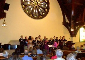 The High Street UU Choir.