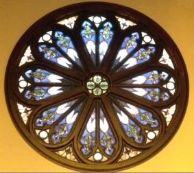 High Street's rose window