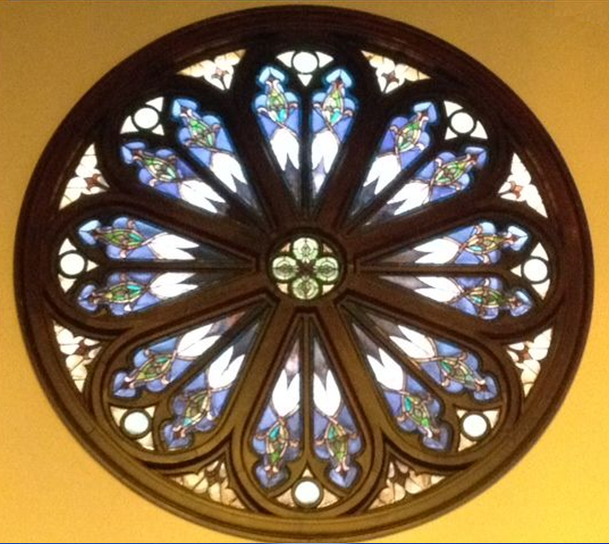 High Street's rose window